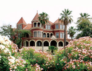 Image of Moody Mansion in Galveston Texas