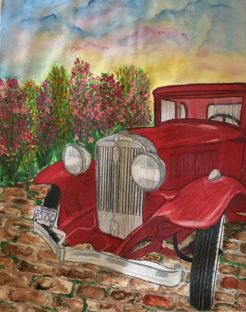Moody Mansion Art Contest High School runner up