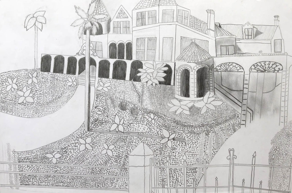 Moody Mansion Art Contest Middle School Honorable Mention