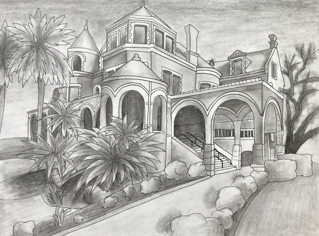 Moody Mansion Art Contest Middle School runner up
