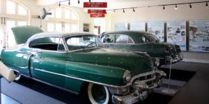 Image of Car Exhibit in Moody Mansion Galveston Museum
